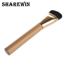 Perfect For Blending Liquid, Cream or Flawless Powder Cosmetics - Bamboo Handle Foundation Makeup Brush