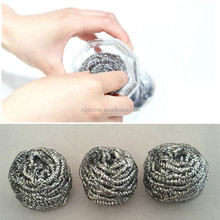 stainless steel household items metal scourer for kitchen cleaning