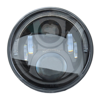 Factory Price 7 Inch Round Led Angle Eyes Headlight/IP67 Jeep Wrangler led light
