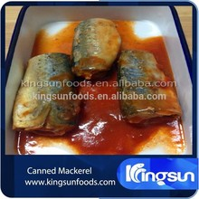 Delicious Canned Mackerel Fish