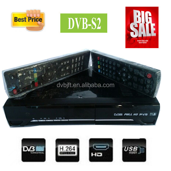Best sale dvb-s2 set top box dvb-s2 hd fta satellite receiver for nigeria