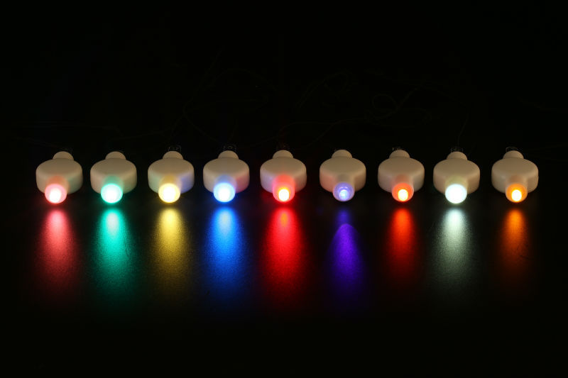 super bright Mini led lightFor All Sizes Paper Lantern Waterproof Light Base Lighting for birthday party decorations