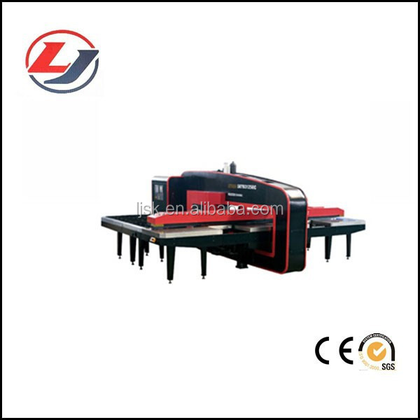 CNC Turret Punching Press Machinery Used for Metal Sheet