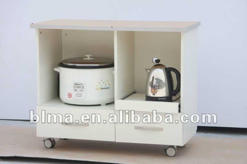 small convenient wooden storage cabinet in melamine board