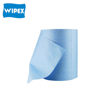 High performance nonwoven automotive cleaning industrial wipes