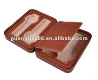 PU Leather 2 & 4 watch travel case