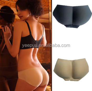 Women Buttock Padded Underwear Briefs Knickers Bum Lift Enhancer Pants Shapewear