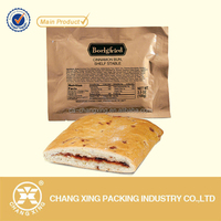 Aluminum Foil Bread Vacuum Compression Packaging Bag Biscuit Flat Pouch Cookies Vacuum Bag