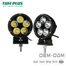 Long life 4 inch 50W 3500lms ip68 motorcycle led driving lights