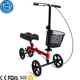 Roller knee walker cover scooter for brokern leg and foot injuries