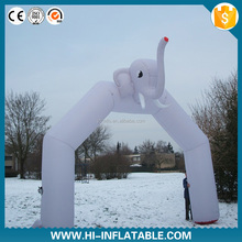 Gaint Apple shape Archway / Inflatable Arch Entrance gate Archway For Event