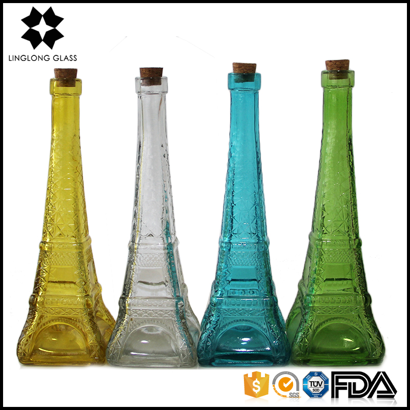 Wholesale eiffel tower glass vases