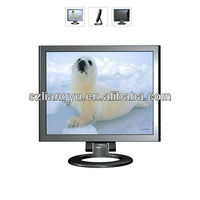 17''/19'' 4:3 security bnc cctv lcd monitor with av input