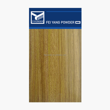Thailand Teak Wooden Texture hybrid type Powder Coating