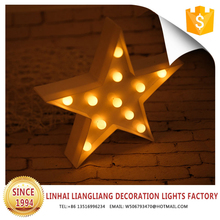 wholesale party supplies led christmas decorations star craft