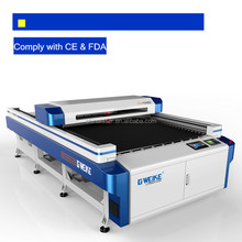 Hot sale LC1325D hot sale metal laser cutting machine for Plywood, stone, Leather, Paper