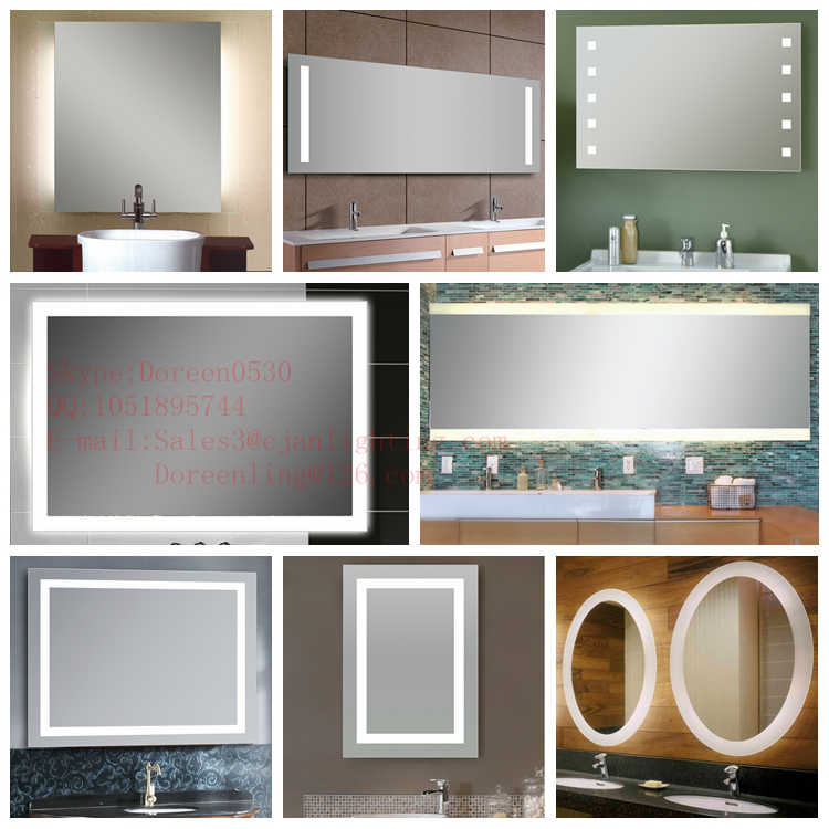 Wall mounted salon mirror with light buy wall mounted for Beauty salon mirrors with lights