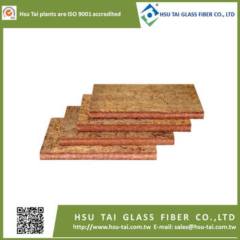 Fiberglass SiNice heat fire resistance board reinforced insulation board for fire door & fire resistant metal rolling