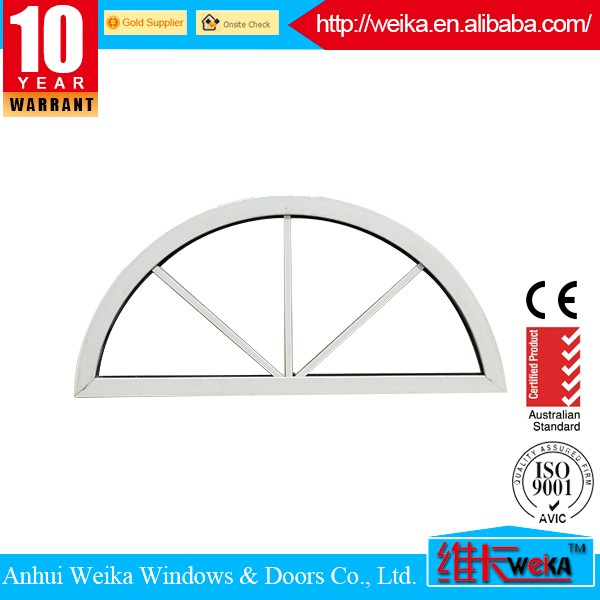 Compact and Durable Energy saving aluminum fix window with perfect sealing