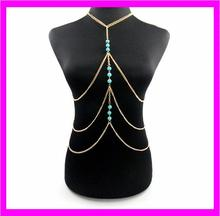 KDA3694 New design Hot Women Gold Chain Sex Body Chain
