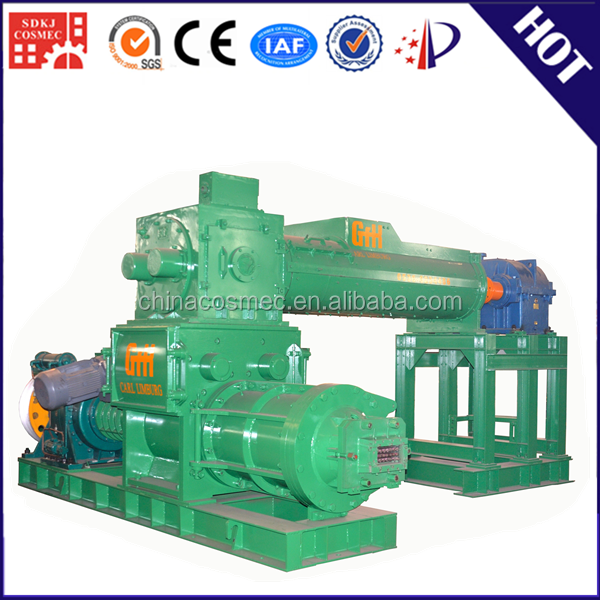 perfessional manufacturer automatic clay brick production line/ precast kerb making machine