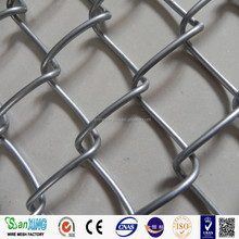 High Quality hot dipped galvanized diamond wire mesh used chain link fence