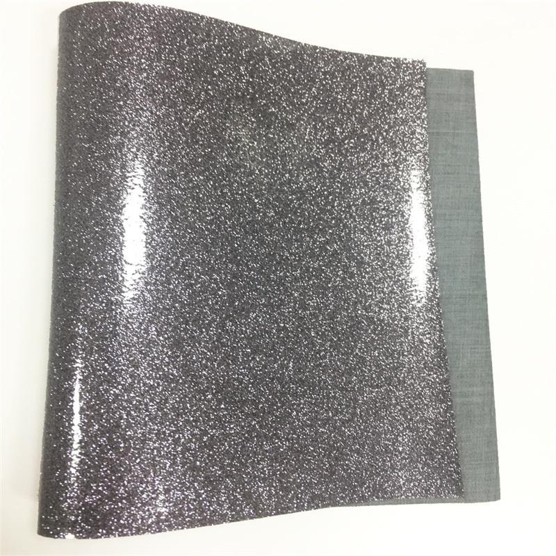 Gentil Pvc Glitter Leather Fabric Shiny Synthetic Leather Fabric For U003cstrongu003e Furnitureu003c/strong