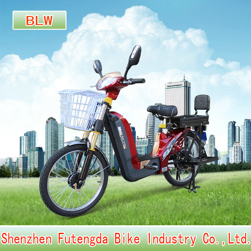 Big loading of cargo ! Shanghai 48V 500W DC brushless hub motor electric bike with <strong>CE</strong>