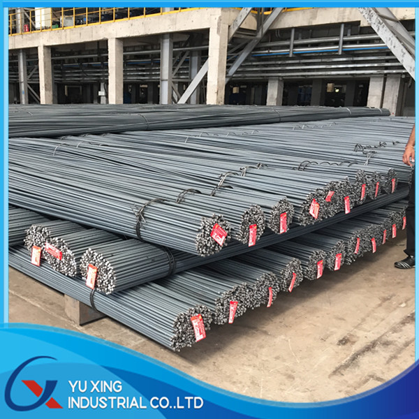 BS4449 460B 500B steel rebar, deformed steel bar,, iron rods for construction