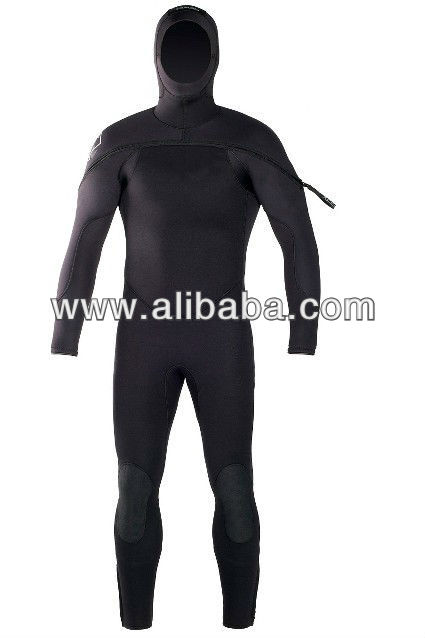 Mens Cold Water Diving Wetsuit 5mm Men's hooded Wetsuit