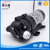 High working efficient manual domestic 24v diaphragm pump dc water purifier pump