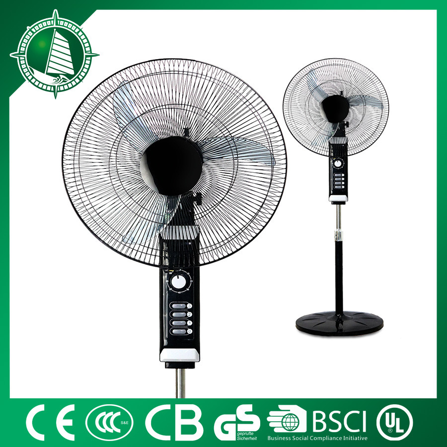 Hot selling DC inexpensive brand new fan Popular electric stand fan with round base