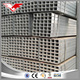 Pre-galvanized GaI welded steel square & rectangular hollow section tube ASTM A500 with price list in China