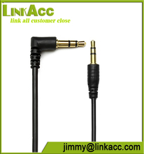 Linkacc104a Slim 3.5mm to Right Angle Stereo Audio Cable