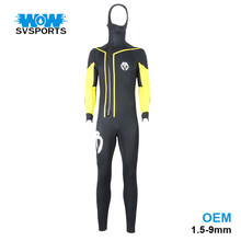 New arrivals Unisex style modern full body waterproof scuba diving wetsuit