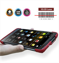 Android 4.2.2 Rugged upgraded tablet PC UHF RFID reader and writer with 7200mhA long life battery