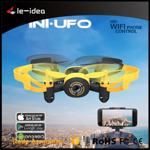 New Mini Drone WIFI RC Helicopter 2.4G 6 Axis 3D Roll WIFI Real Time Transmission Video Recording Nano Quadcopter