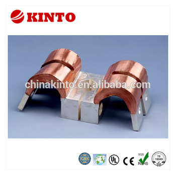 Hot selling laminated copper flexible jumper, automotive connector terminal