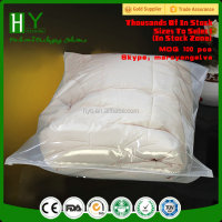 Jewelry plastic bag/ garment zipper bag /zipper bedding bag