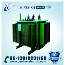 33kV 415V 500kVA oil conversator type electrical power transformer with best price