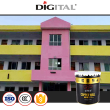Waterproof crack resistant coating paint for exterior ceramic