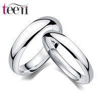 Teemi High Qquality Wholesale Hot Sale 2015 Fashion S925 Sterling Silver Love forever Couple rings Lovers Wedding rings
