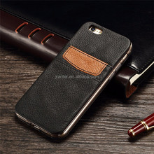 Custom Leather Mobile Phone Cover Replacement Parts for iPhone 5 Back Cover Housing