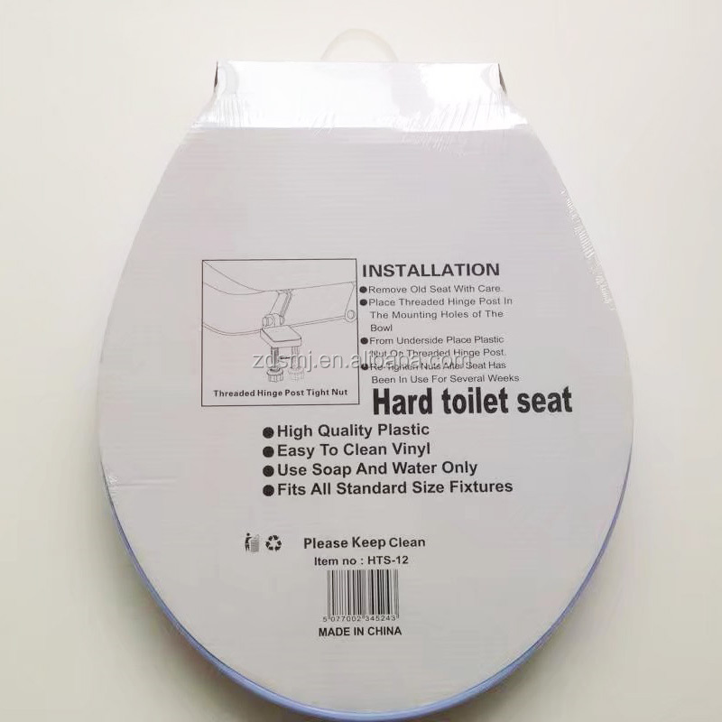 PP material soft close toilet seat economic toilet OEM service plastic toilet seat