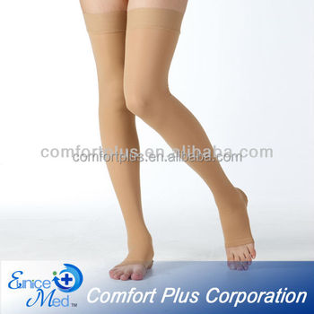 23-32mmHg Thigh high medical anti-embolism compression stockings