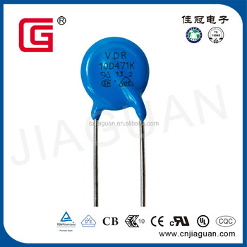 Metal voltage dependent resistor 10D471K MOV Varistor