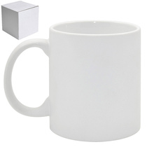 11oz White Coated AAA Grade Coffee Mug with Photo Insert