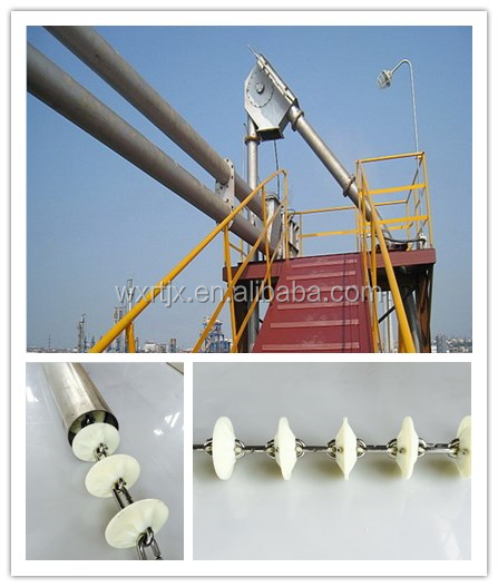 China supplier customized tube chain disc conveyor