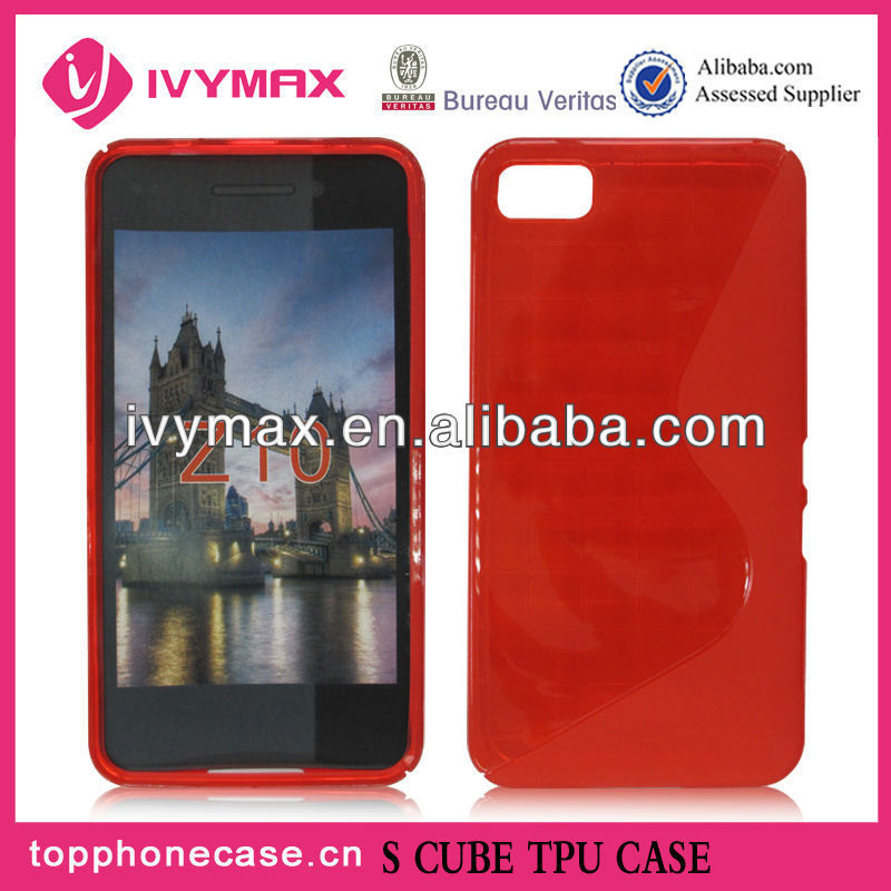 Newest Factory Price Simple TPU Case for BlackBerry Z10