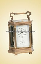 Antique French Cast Brass Carriage Clock JGK5019